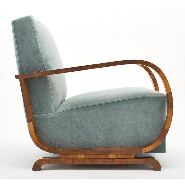 Art Deco Austrian Armchairs For Sale - Image 10 of 11