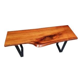 Live Edge Eucalyptus Coffee Table