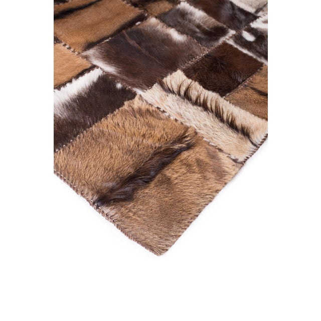 """Aydin Goatskin Patchwork Accent Area Rug - 4'7"""" x 6'7"""" - Image 2 of 9"""