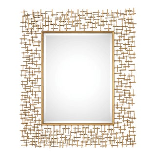 Uttermost Nevena Copper Mirror by Billy Moon For Sale