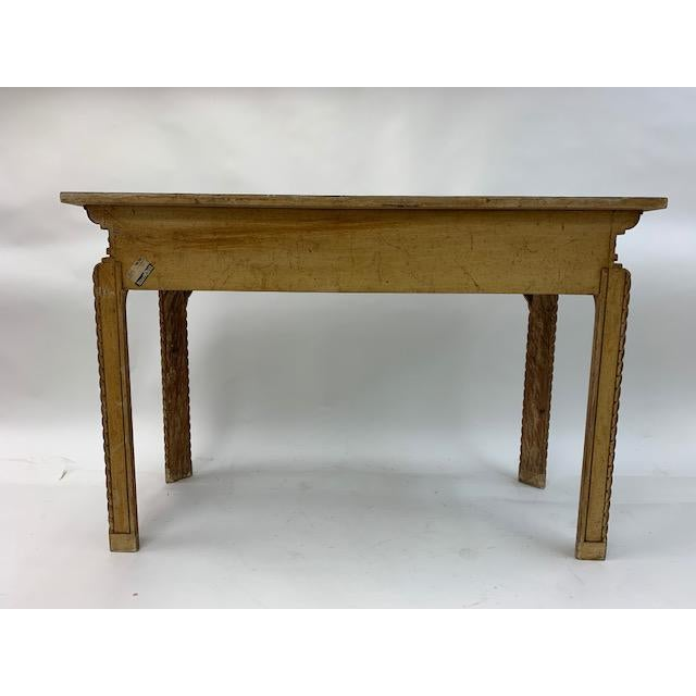 Vintage Italian Carved Console Tables - a Pair For Sale - Image 10 of 11