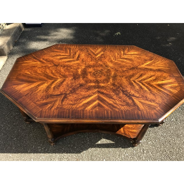 Baker Octagonal Coffee Table - Image 3 of 4