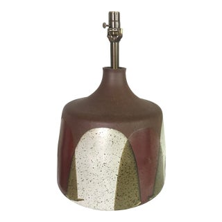 David Cressey Ceramic Table Lamp For Sale