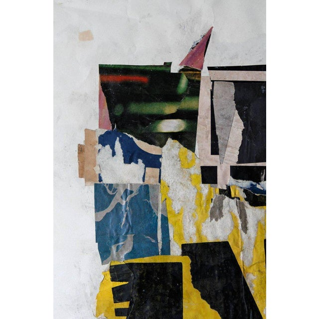Wayne Timm Vintage Collage on Paper For Sale - Image 4 of 6