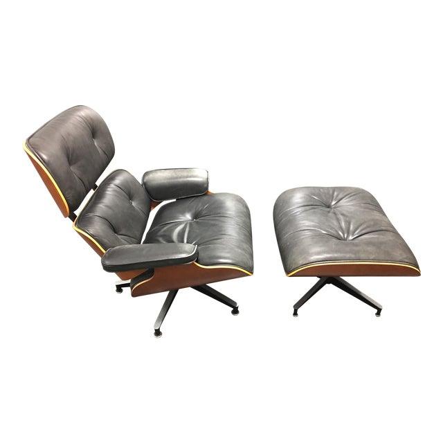 Herman Miller Lounge Chair + Ottoman - Image 1 of 10