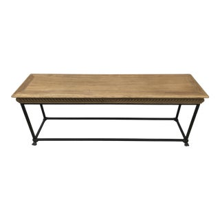 Traditional Restoration Hardware Console For Sale