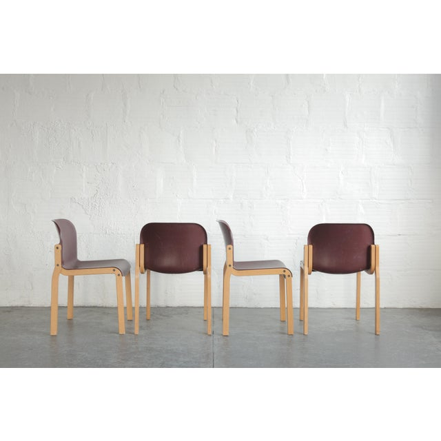 Stackable multi-purpose chairs. Perfect for a modern home.