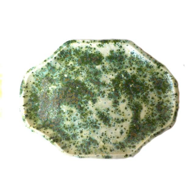 Vintage Glazed Ceramic Serving Dish Tray - Image 7 of 7