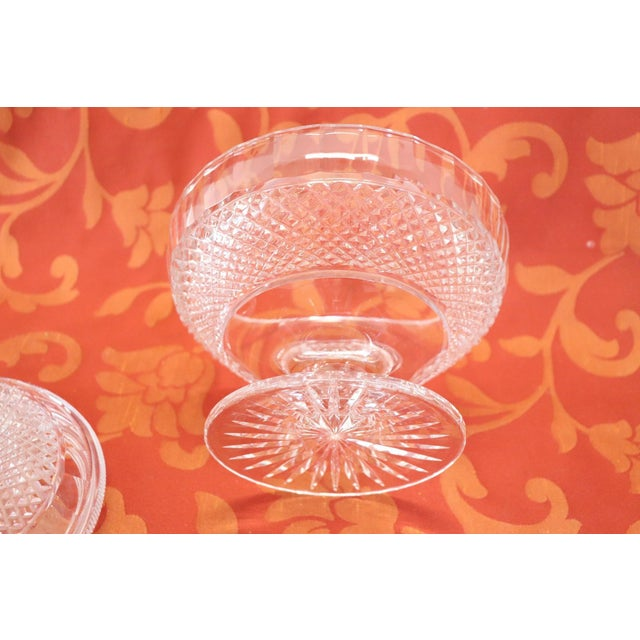 20th Century Crystal Centrepiece, 1980s For Sale - Image 6 of 9