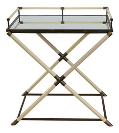 Image of White Bar Carts and Dry Bars