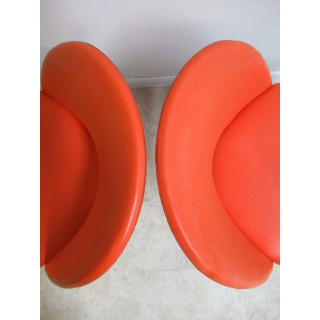 Adrian Pearsall Craft Associates Scoop Side Chairs - A Pair For Sale - Image 9 of 9