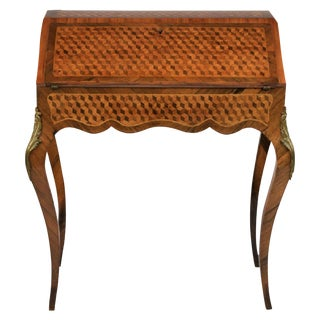 French Louis XV Style Ladies Desk, 19th Century For Sale