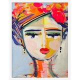 "Image of Medium ""Girl Citrus"" Print by Maren Devine, 19"" X 24"" For Sale"