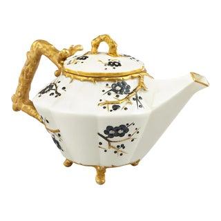 Belleek Thorn Pattern Teapot For Sale