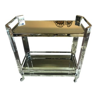 Mitchell Gold Melrose Bar Cart For Sale