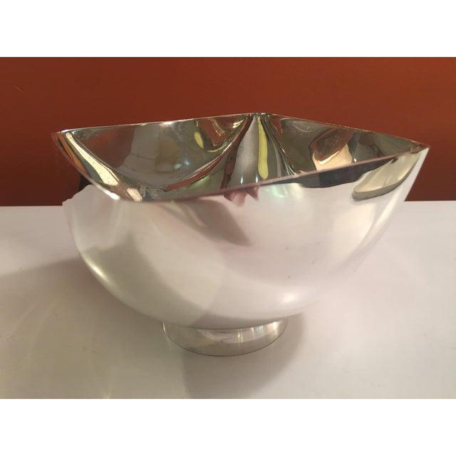Ward Bennett Silverplate Bowl For Sale In Philadelphia - Image 6 of 12