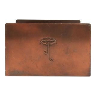 Roycroft Copper Letter Holder For Sale