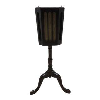 Vintage Queen Anne Pedestal Planter / Champagne Bucket