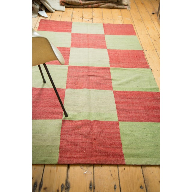 """Contemporary Patchwork Rug - 3'11"""" x 7'3"""" - Image 6 of 7"""