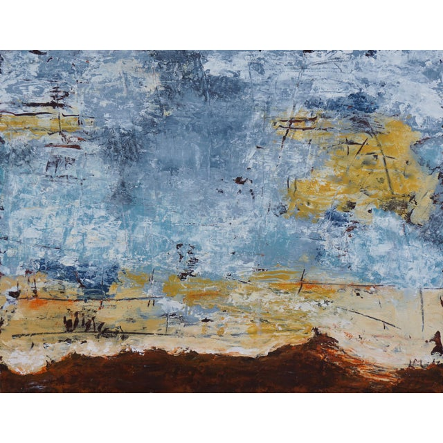 """2020s Laurie MacMillan """"Out of This World"""" Abstract Painting For Sale - Image 5 of 5"""