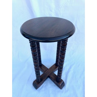 1960s Spanish Colonial Small Side Book Table Preview