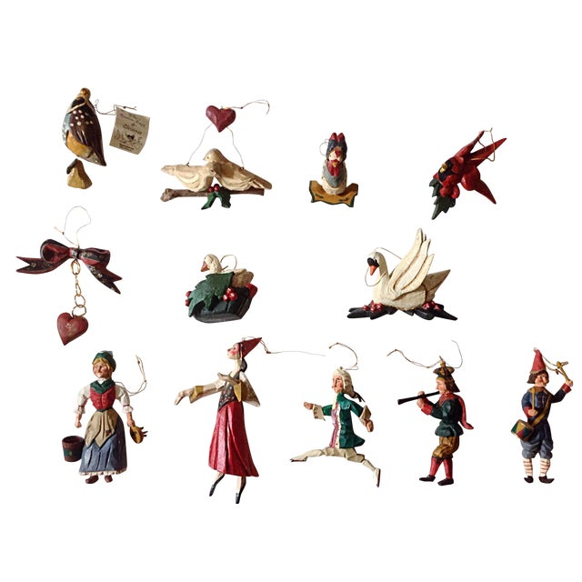 Hatten 12-Days of Christmas Ornament Set - Image 1 of 6