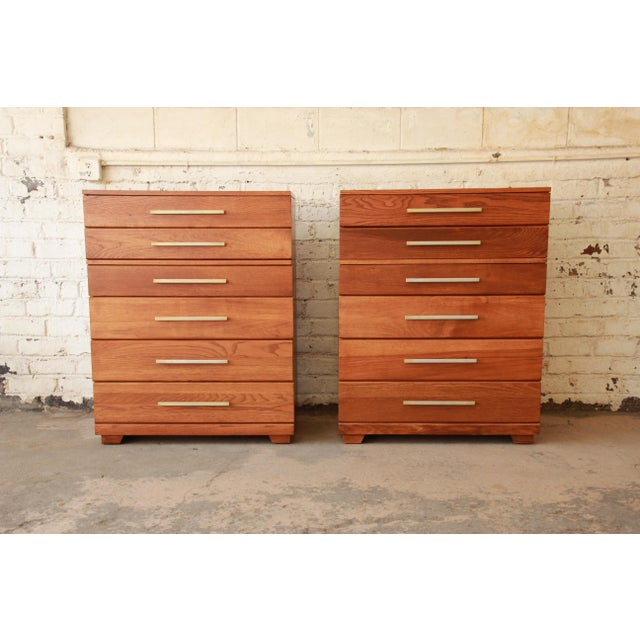 Mid 20th Century Raymond Loewy for Mengel Highboys- a Pair For Sale - Image 5 of 11