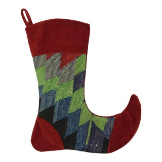 Kilim Christmas Stocking | Jordanna