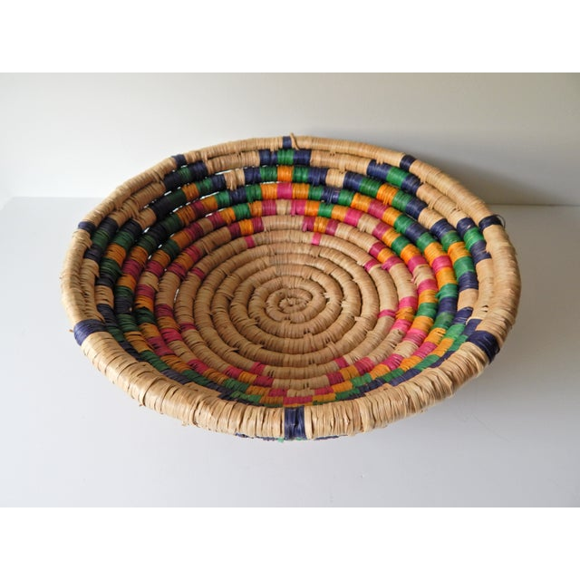Multi-Color Seagrass Basket - Image 3 of 4