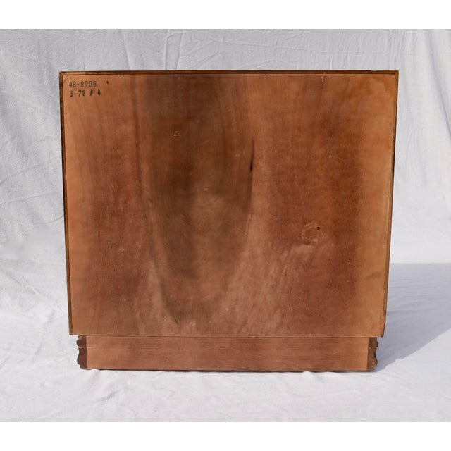 Henredon Pan Asian Tansu Campaign Mahogany Bachelor Chest For Sale In Philadelphia - Image 6 of 9