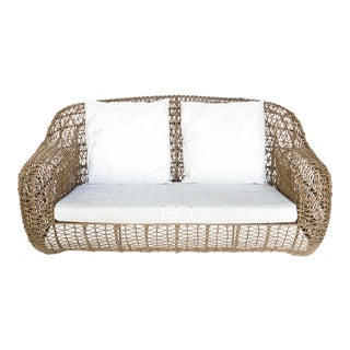 Designer Kenneth Cobonpue's Rattan Balou Loveseat For Sale