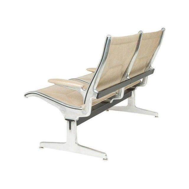 Eames for Herman Miller Tandem Sling Airport Bench - Image 3 of 4