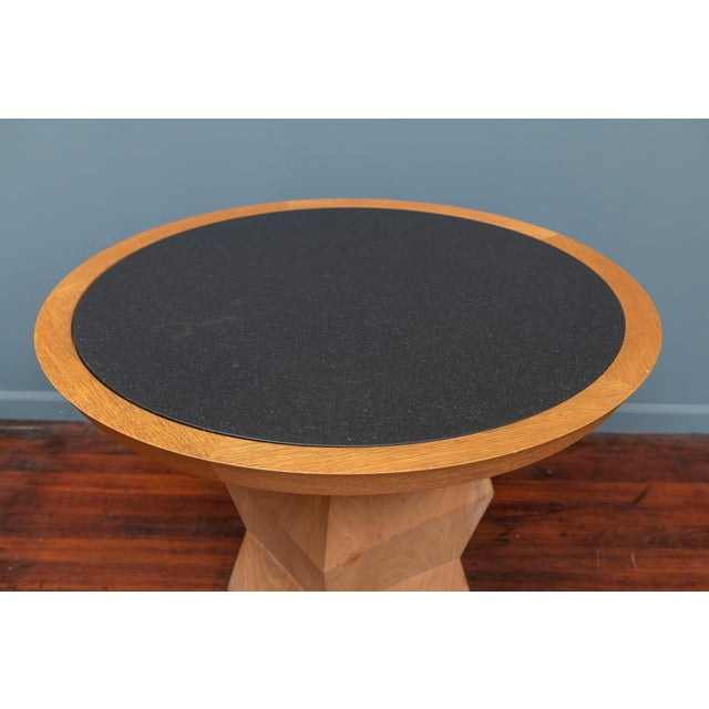Modern Christian Liaigre Yquem Pedestal Table For Sale - Image 3 of 9