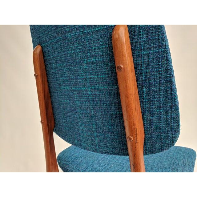 1960s Scandinavian Modern Sorheim Bruk Teak Dining Chairs - Set of 10 For Sale - Image 12 of 13