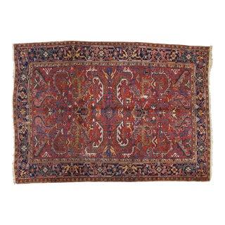 """Vintage Heriz Carpet - 7'4"""" x 10'3"""""""