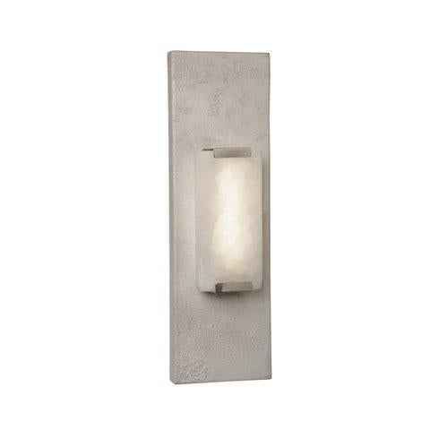 Contemporary Gemme I White Stone Wall Lamp by Christine Rouviere For Sale - Image 3 of 3