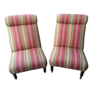 Vintage French Louis XV French Chairs - A Pair