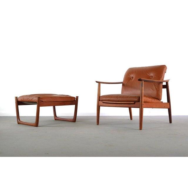 c5af6d160b1bd Danish Modern Mid Century Peter Hvidt Orla Molgaard-Nielsen for France and  Son Chair and