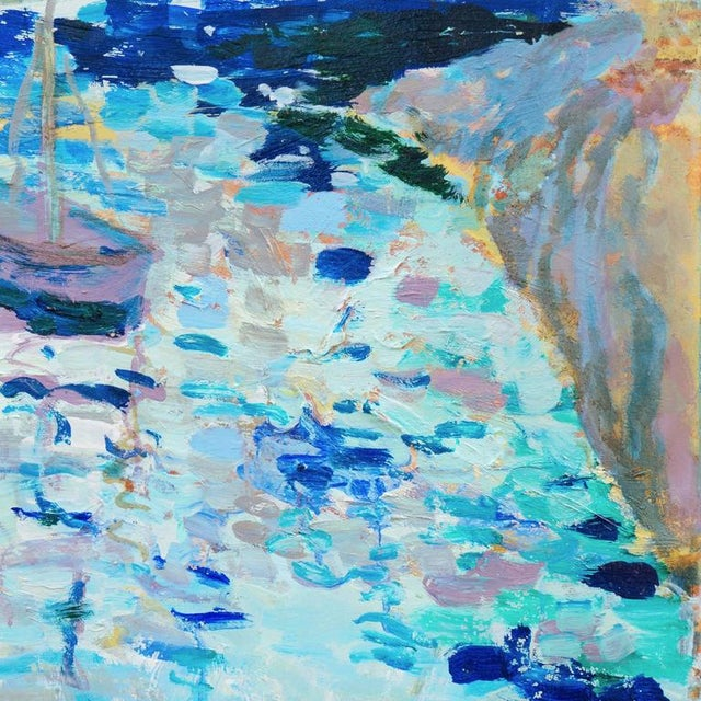 Contemporary Robert Canete Fishing Boat Off Carmel 2015 For Sale - Image 3 of 8