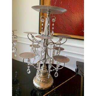 Mid-Century Modern Tabletop Metal Candelabra Preview