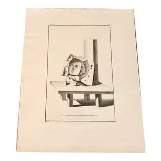 Surrealist Print From the Chalcographic Archives of the Louvre Museum For Sale