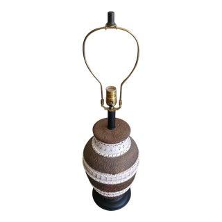 Vintage 1960s Bitossi Ceramic Lamp, Italy For Sale