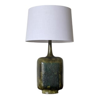 Large Guido Gambone Lamp, Italy For Sale