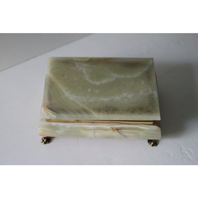 Hinged Onyx Box - Image 2 of 6