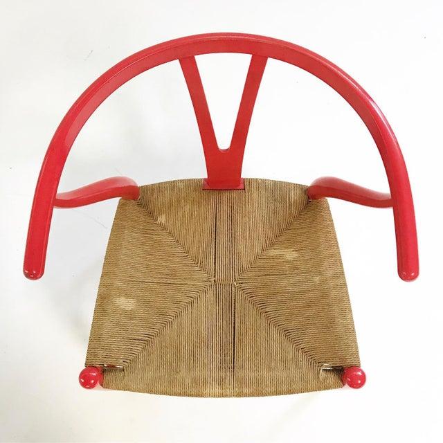 Hans Wegner Vintage Hans Wegner Model Ch24 Wishbone Chair For Sale - Image 4 of 8
