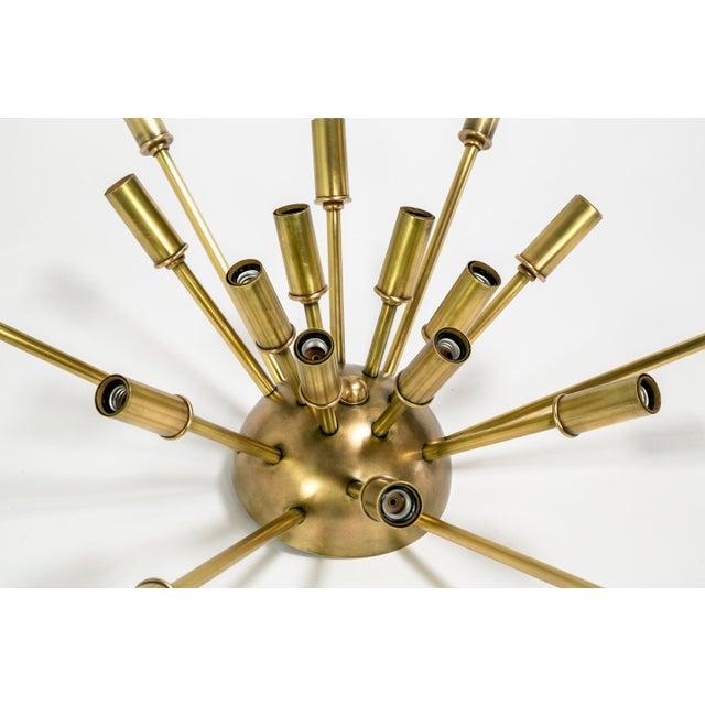 Dogfork Lamp Arts Sputnik Flush Mount / Sconce in Brass or Bronze Finish For Sale - Image 4 of 9