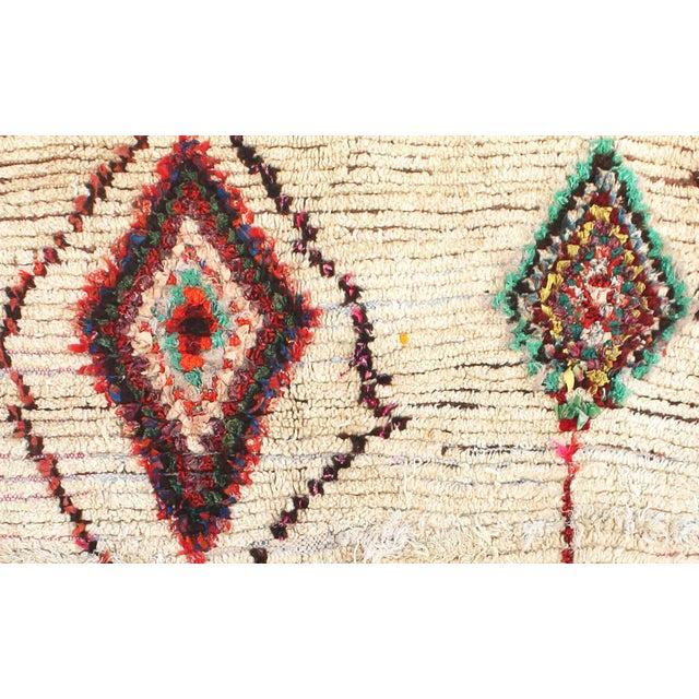 "Vintage Ourika Moroccan Berber Rug - 4'1"" X 7'8"" - Image 2 of 5"