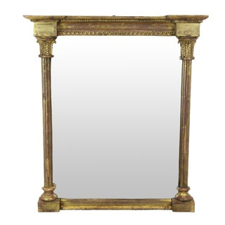 A Small Regency Mirror For Sale