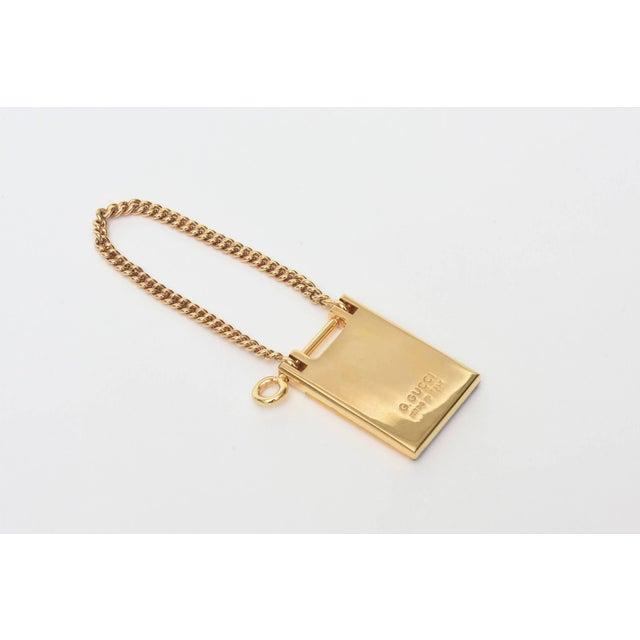 66b44af783e Italian Vintage Gucci Italian Mondrian Style Geometric Key Ring For Sale -  Image 3 of 11