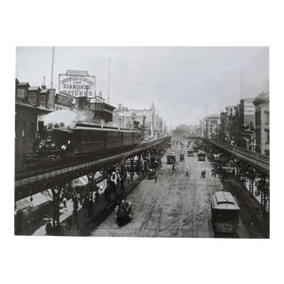 "2000s Realism Photograph for the New York Times, ""New York City, 1896"" the Bowery For Sale"